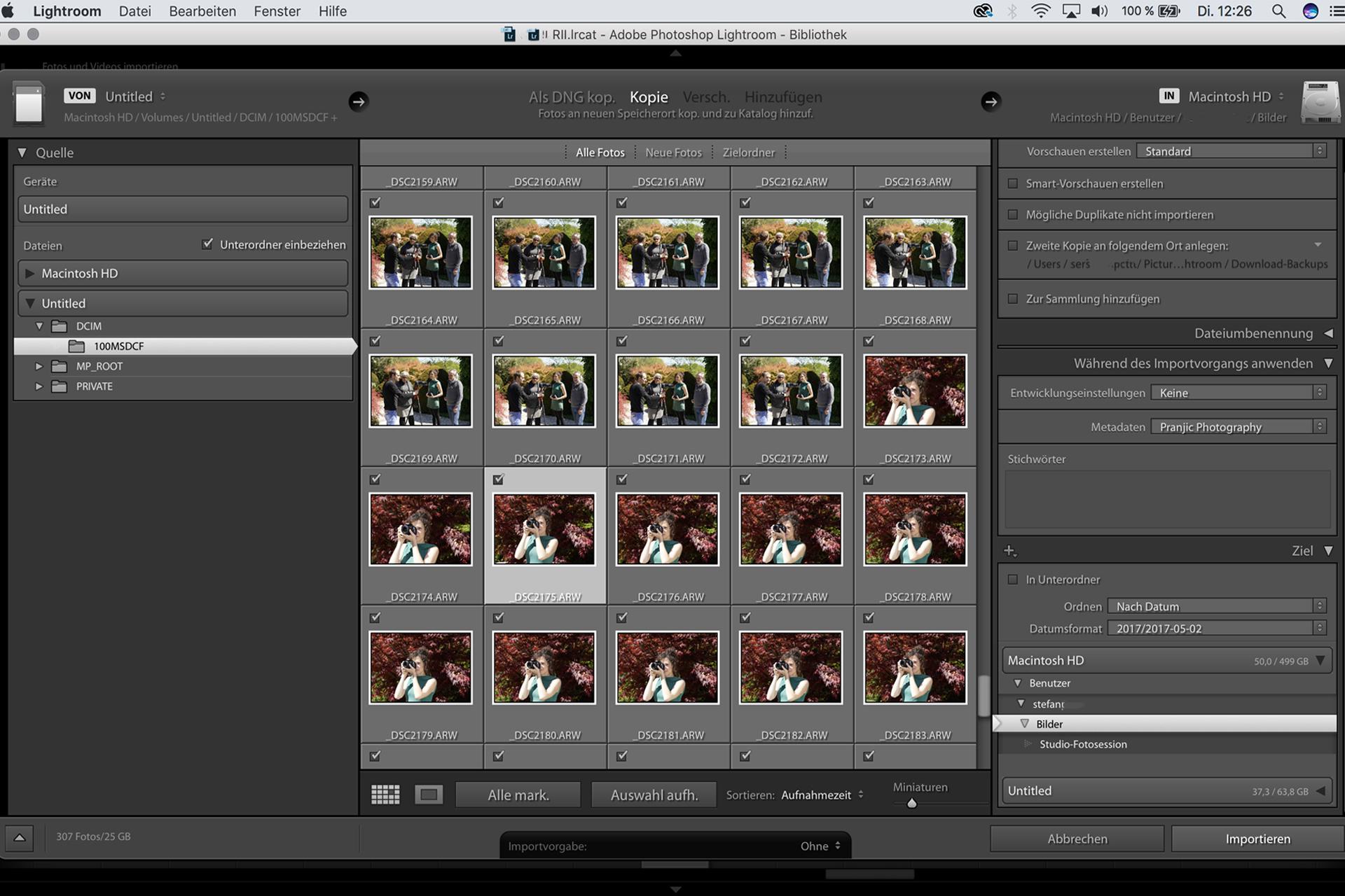 Lightroom Bildbearbeitung lernen